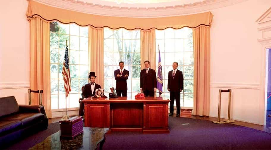 presidentes americanos no Dreamland