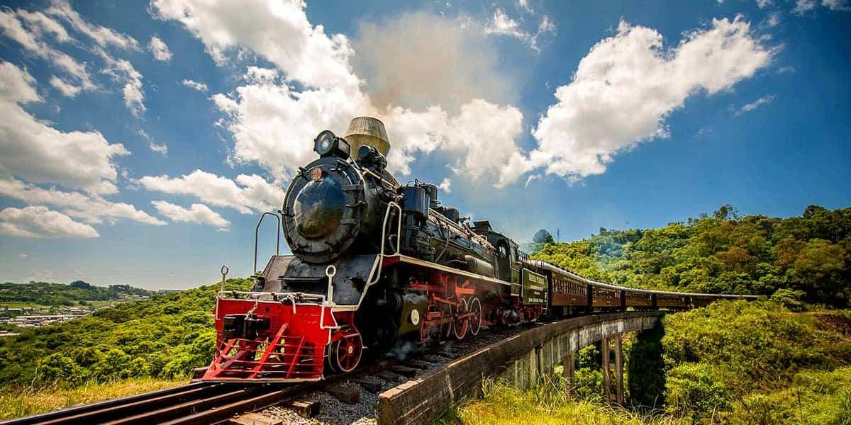 trem maria fumaça Gramado
