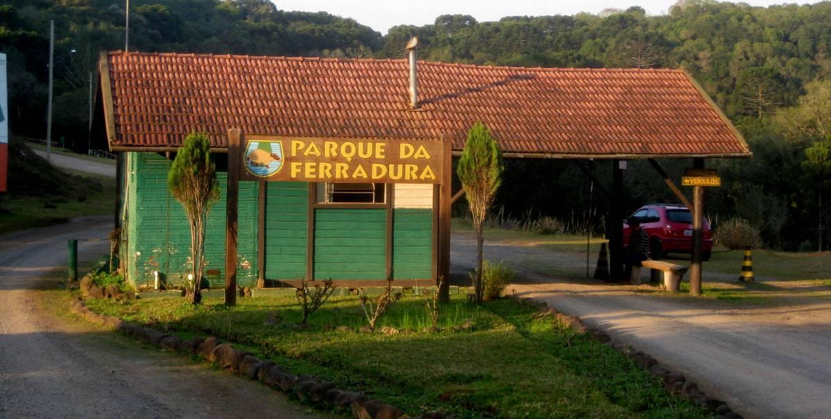 entrada do parque da ferradura