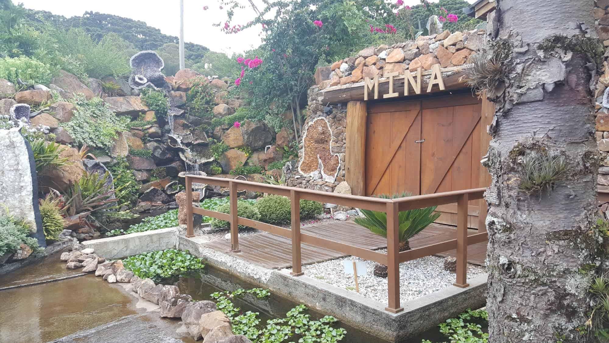 entrada principal do local