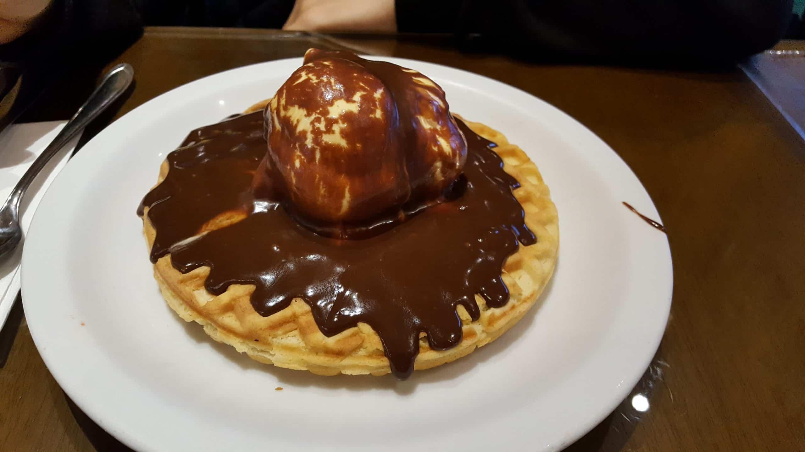 delicioso waffle