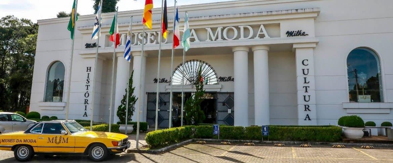 entrada do museu da moda