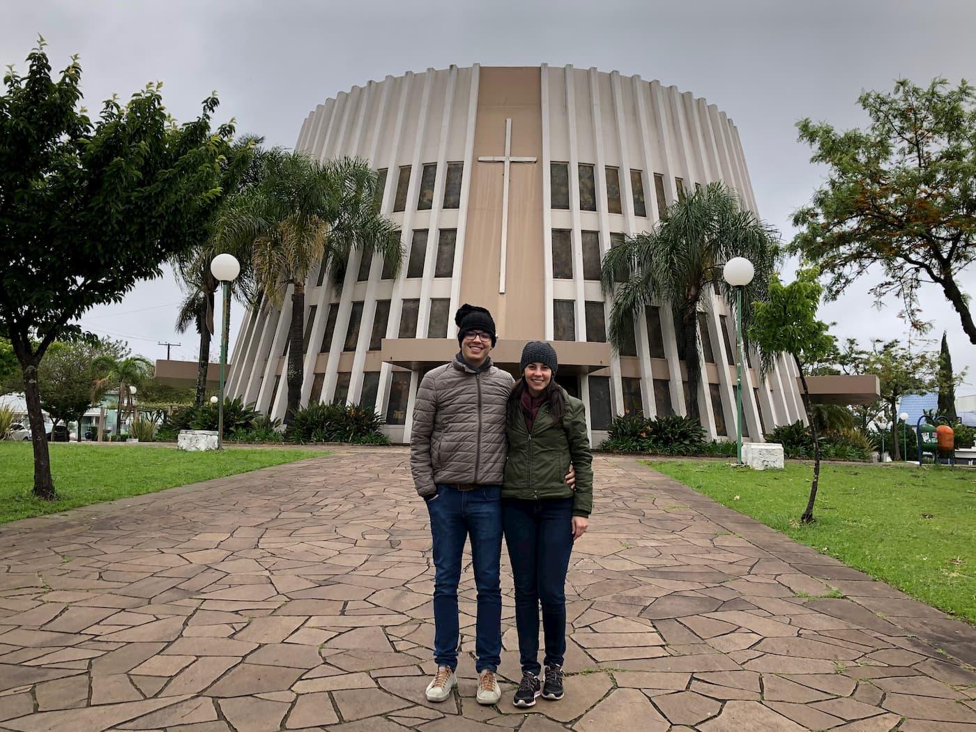 igreja central em bento gonçalves