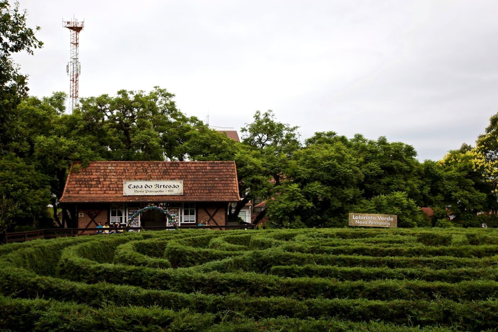 Labirinto Verde em Nova Petrópolis