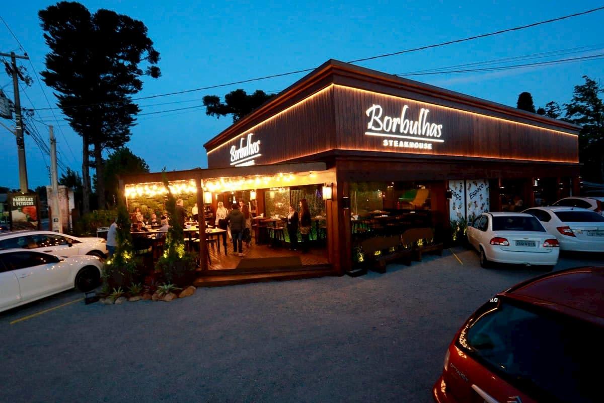 restaurante borbulhas gramado